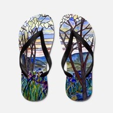Tiffany Frank Memorial Window Flip Flops