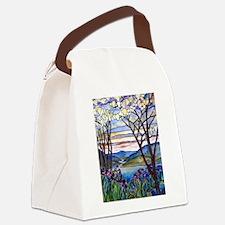 Tiffany Frank Memorial Window Canvas Lunch Bag