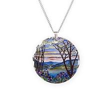 Tiffany Frank Memorial Windo Necklace