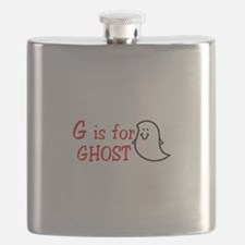 G Is For Ghost Flask