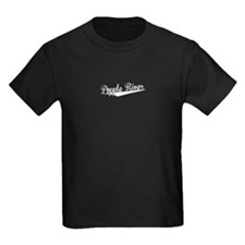 Popple River, Retro, T-Shirt
