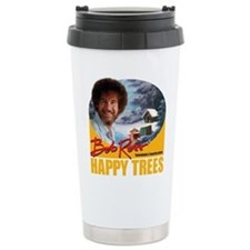 Bob Ross (Stainless Steel) Travel Mug