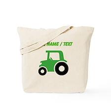 Custom Green Tractor Tote Bag