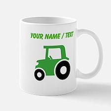 Custom Green Tractor Mugs
