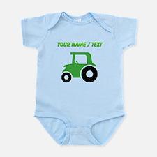 Custom Green Tractor Body Suit