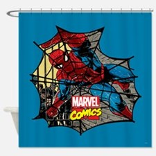 Spider Web 2 Shower Curtain