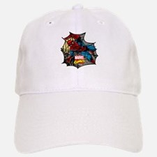 Spider Web 2 Baseball Baseball Cap