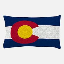 Colorado Flag Damask Pattern Pillow Case