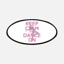 Modern Keep Calm and Dance On Patches