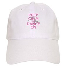 Modern Keep Calm and Dance On Baseball Baseball Cap