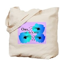 Oma Grandmother Tote Bag