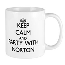 Keep calm and Party with Norton Mugs
