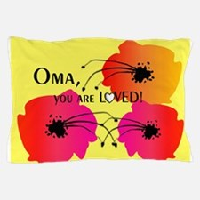 Oma Grandmother Pillow Case