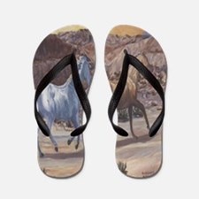 Running horses flip-flop Flip Flops