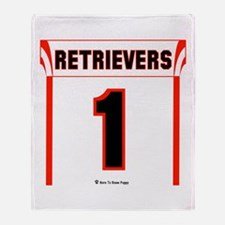 Retriever Jersey Throw Blanket