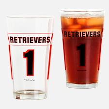 Retriever Jersey Drinking Glass