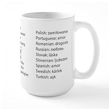 Love In 29 Languages Mugs