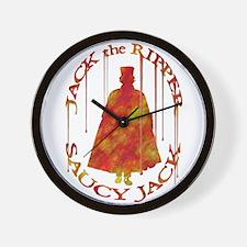 Saucy Jack Rustic Wall Clock