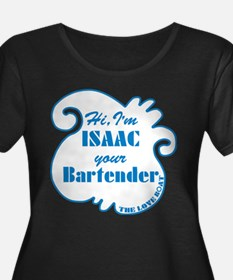 Love Boat Isaac Your Bartender Plus Size T-Shirt
