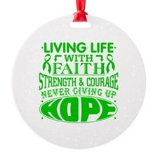 Spinal Cord Injury Faith Ornament