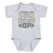 Spina Bifida Faith Baby Bodysuit