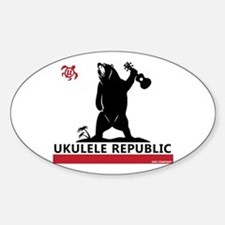 Ukulele Republic Decal