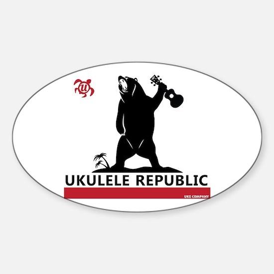 Ukulele Republic Decal