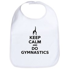 Keep calm and do Gymnastics Bib