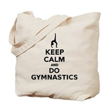 Keep calm and do Gymnastics Tote Bag