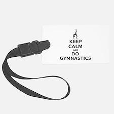 Keep calm and do Gymnastics Luggage Tag