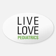 Pediatrics Sticker (Oval)