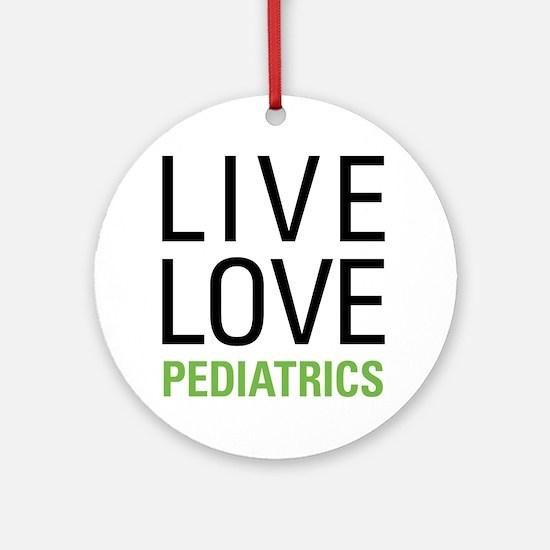 Pediatrics Ornament (Round)