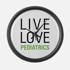 Pediatrics Large Wall Clock