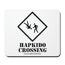 """""""Hapkido Crossing"""" Mousepad"""
