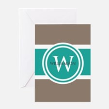 Custom Monogram Greeting Cards
