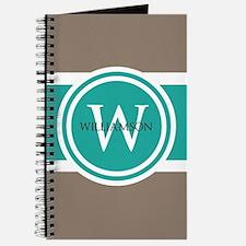 Custom Monogram Journal