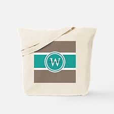 Custom Monogram Tote Bag
