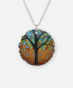 Tree of Many Colors Necklace