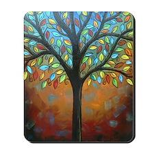 Tree of Many Colors Mousepad