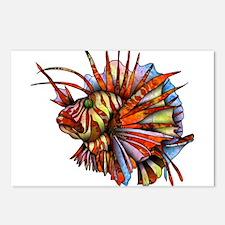 Orange Fish Postcards (Package of 8)