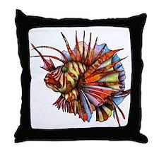Orange Fish Throw Pillow