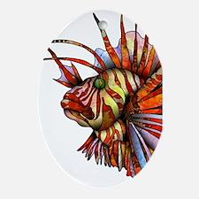 Orange Fish Ornament (Oval)