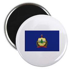 "Flag of Vermont 2.25"" Magnet (100 pack)"