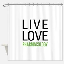 Pharmacology Shower Curtain