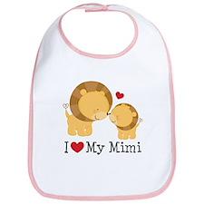 I Love Mimi Bib