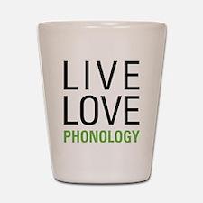 Phonology Shot Glass
