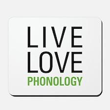 Phonology Mousepad