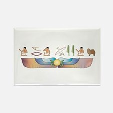 Spitz Hieroglyphs Rectangle Magnet