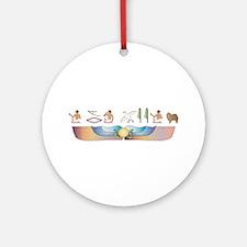 Spitz Hieroglyphs Ornament (Round)