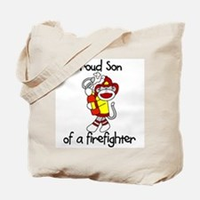 Firefighter's Son Tote Bag